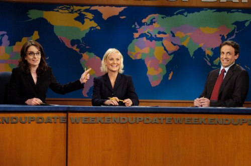 Tina Fey, Amy Poehler and Seth Meyers for Saturday Night Live