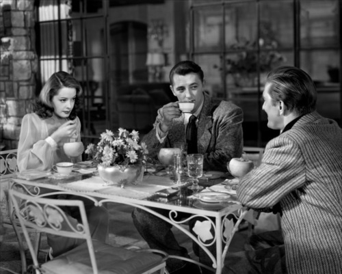 Jane Greer, Robert Mitchum and Kirk Douglas (Out of the Past, 1947)