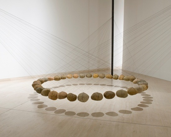 Ken Unsworth. Suspended stone circle, 1978-1981. Art Gallery NSW