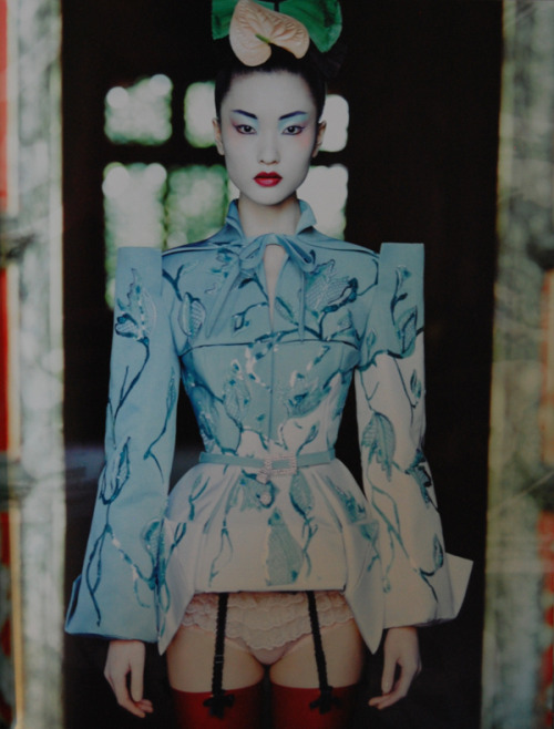 "stylejourno:  Christian Dior Haute Couture, photographed by Patrick Demarchelier for his 2010 ""Dior Couture"" book"