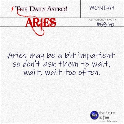 Aries 5860: Visit The Daily Astro for more Aries facts.and get a free online I Ching reading here