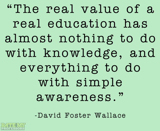 More education-related quotes here.
