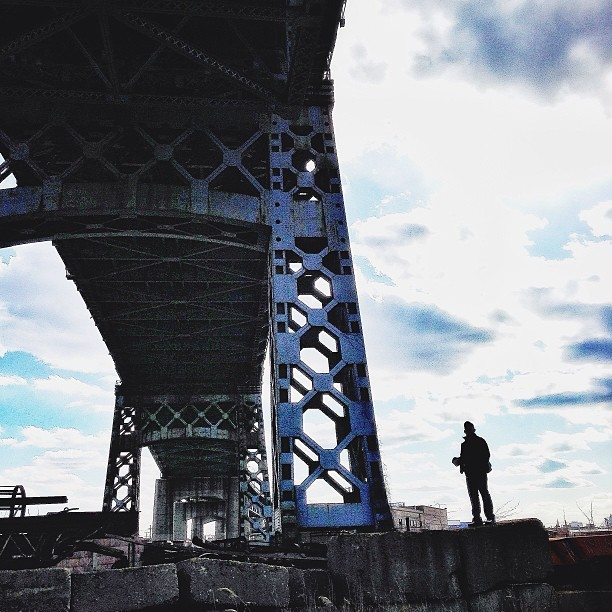 Exploring Brooklyn with @jorgeq.