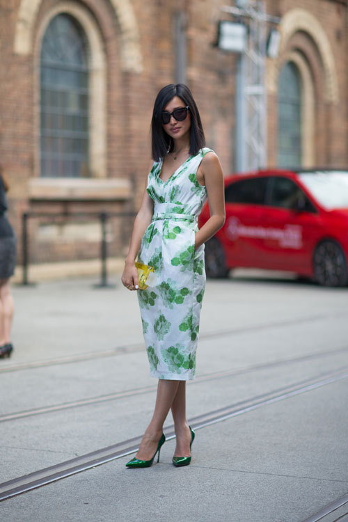 more favorite looks from Fashion Week Australia, but then again Nicole (Warne) always looks fab.