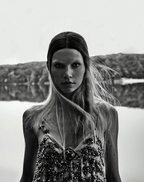 Aline Weber by Beau Grealy for Muse Winter 2013.