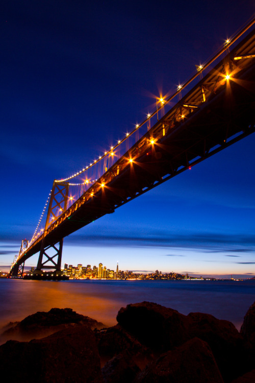 senerii:  San Francisco Bay Bridge by BBrown57 on Flickr.