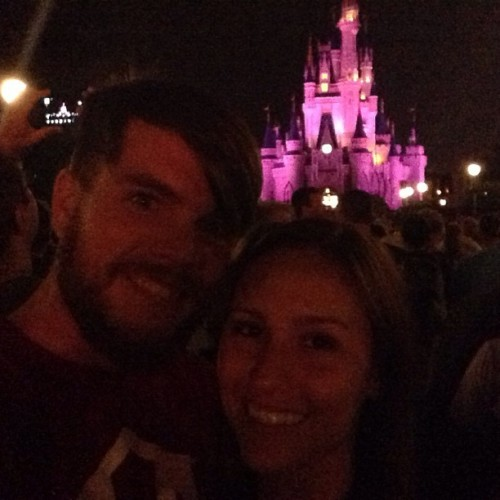 M. I. C. K. E. Y. 🐭 With @meredith_wilder  (at Magic Kingdom)