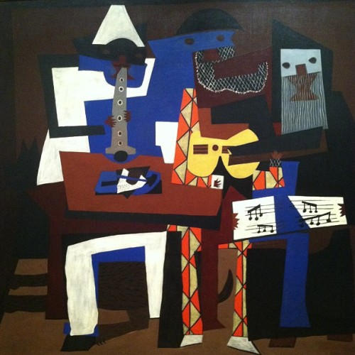 If I could own a piece of Picasso it would be the Three Musicians.  - W2K  (at Museum of Modern Art (MoMA))