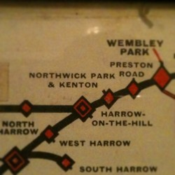 Old school tube map of where I live. #nofilter