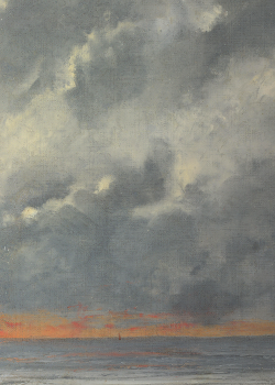 Gustave Courbet, Beach Scene (detail), 1874 (x)