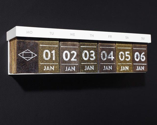 laughingsquid:  The Tea Calendar, A Calendar With a Wafer of Tea For Every Day