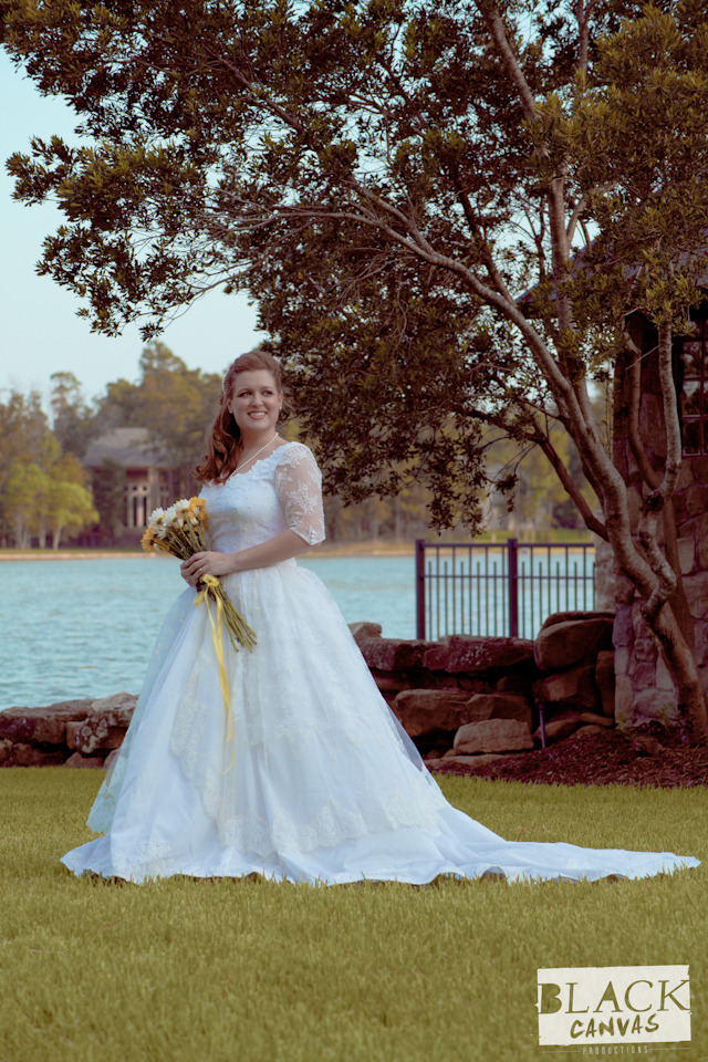 Bridal portrait of Jaime Mullins