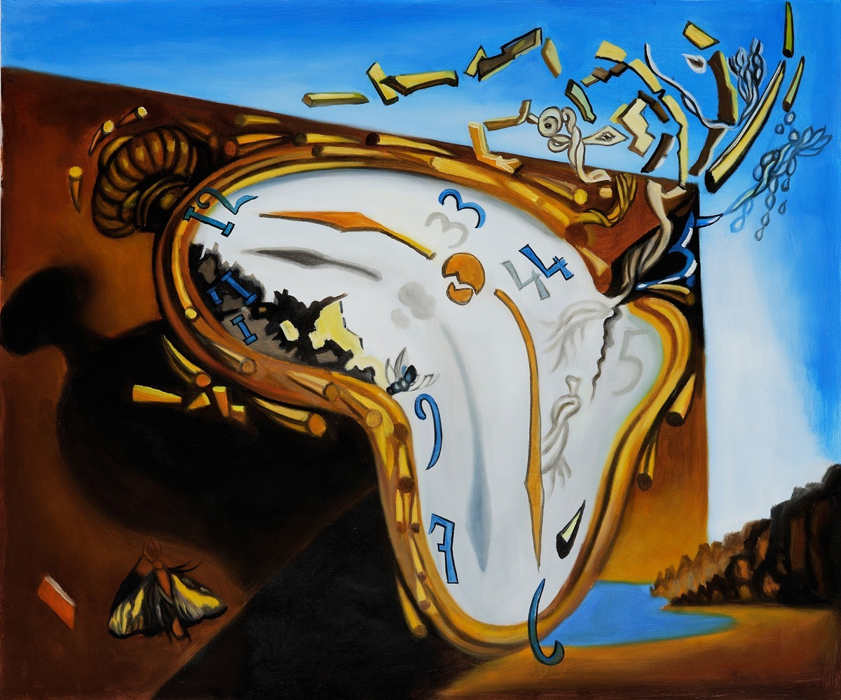 One of my favorite paintings by Salvador Dali
