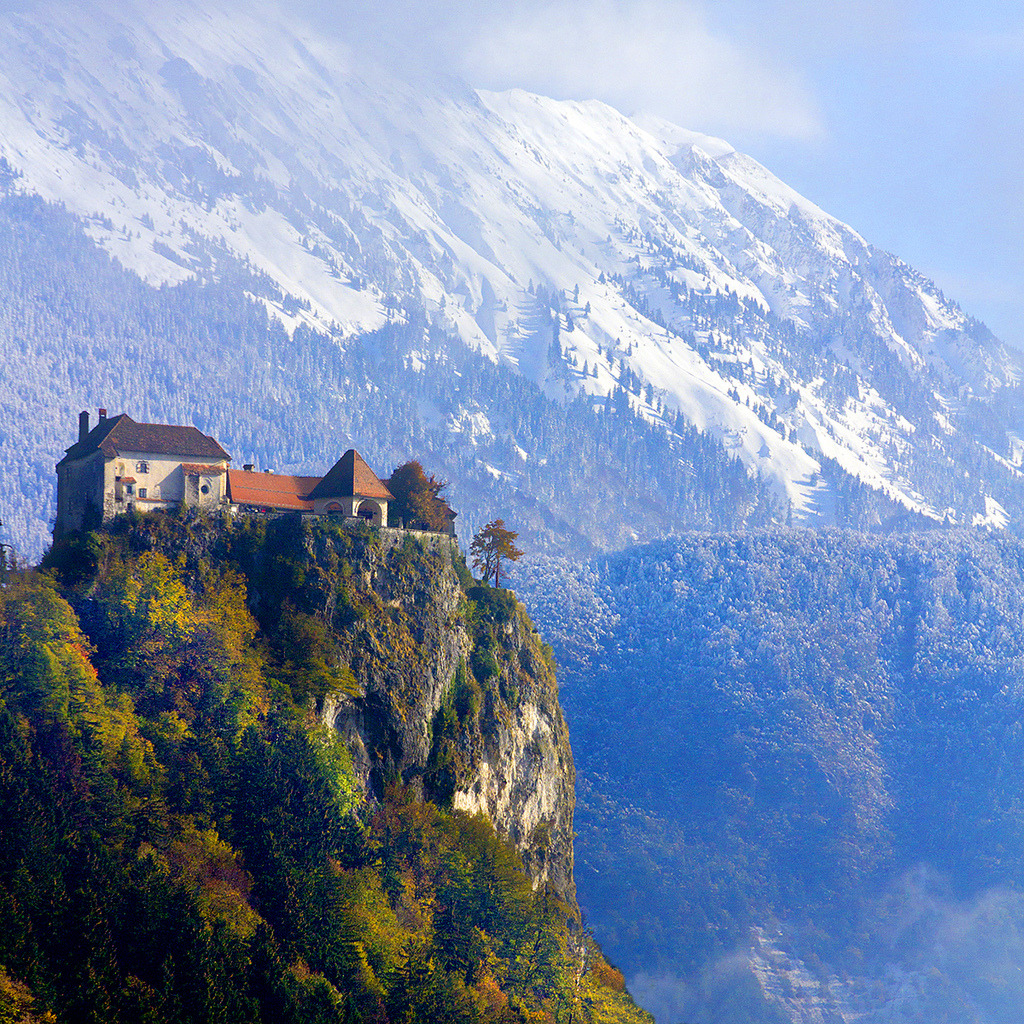 Bled Castle (by Pilar Azaña)