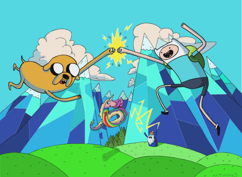 Adventure time is now on Netflix!!!!! Huzzah!