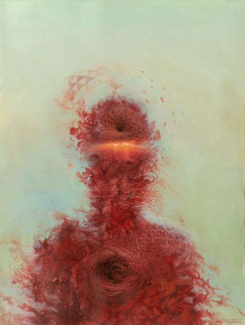 "Cool Art: Mars-1 x Brendan Monroe | Painting Acrylic on paper, 2012. Check out more works from Mars-1. Conveyer Of Cool ""Stay COOL"" Tumblr 
