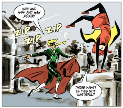 This is why Bandette is one of my favorite comics.  From Bandette 4.