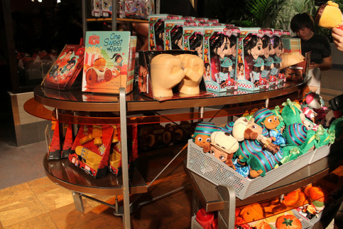 Wreck-It Ralph Merchandise by snow1937white on Flickr.