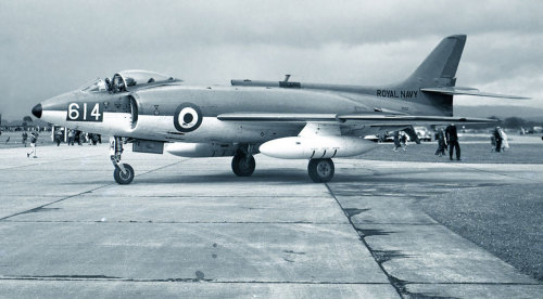 The Fleet Air Arm of the Early Cold War…Image No.1: A Supermarine Scimitar