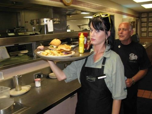 Hey, remember when Katy Perry worked at Denny's to promote her signature cappuccino? How about when Sum-41 had their own sandwich?