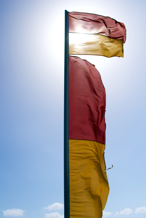 Flag, North Kirra Beach