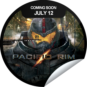 I just unlocked the Pacific Rim Coming Soon sticker on GetGlue                      8541 others have also unlocked the Pacific Rim Coming Soon sticker on GetGlue.com                  When legions of monstrous creatures started rising from the sea, a war began that would take millions of lives and consume humanity's resources for years on end. Find out what happens when Pacific Rim opens in theaters on 7/11/2013. Share this one proudly. It's from our friends at Warner Bros..