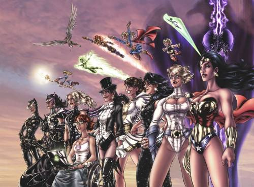 The Women of DC Comics by *AdamWithers