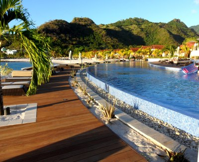 Come join us for a dip at Buccament Bay Resort, St Vincent & The Grenadines