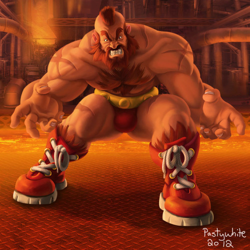 Zangief by Pasty White.