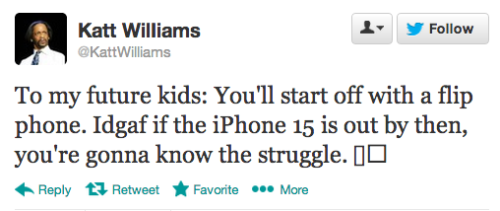 sofapizza:  pleatedjeans:  @kattwilliams  future parenting: you're doing it right.