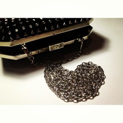 I #love this #studded #clutch 😍 thankyou for your pick @keziaoc 💏 and the others mumumu @kekewi @rakhici @ludovicajessica