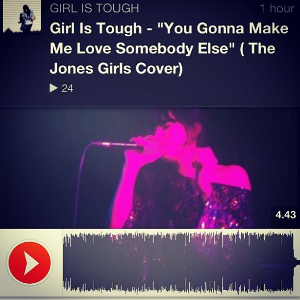 It's up ;) http://soundcloud.com/girlistough  😉