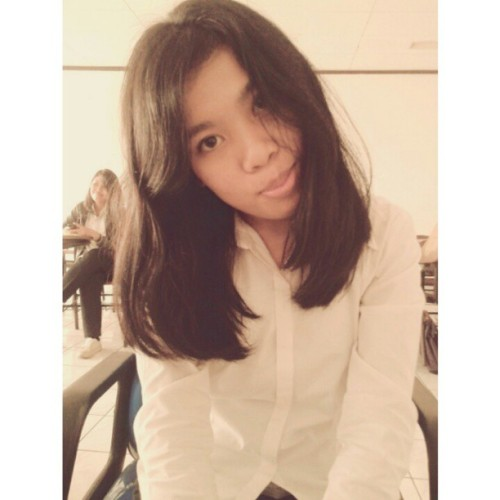 #self #selfportrait #selfie #selca #girl #me #hairpost #shorthair #campus #photoofheday #morning #asian #indonesia