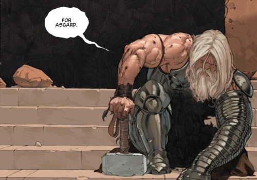 Always. what-thecomicbookpanels:  Thor: God of Thunder #4
