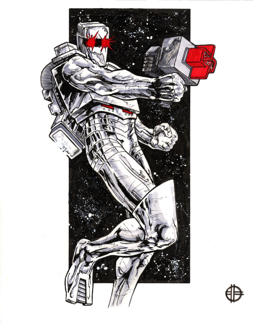 westcoastavengers:  Rom by Brett Barkley