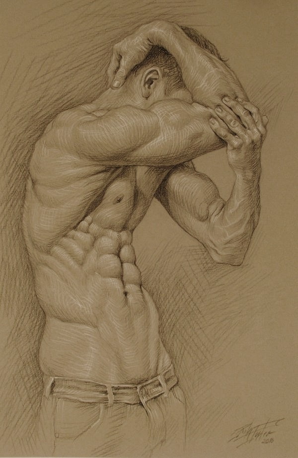 hadrian6:  The emptiness. 2010.   Rita Foster.   charcoal drawing. http://hadrian6.tumblr.com