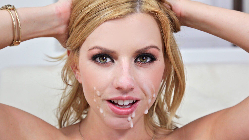 Lexi belle facial cumshot