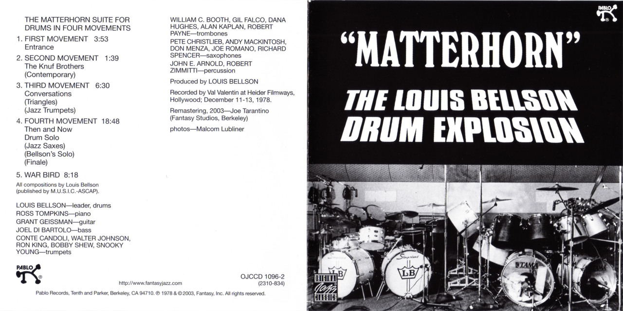 Matterhorn The Louis Bellson Drum Explosion