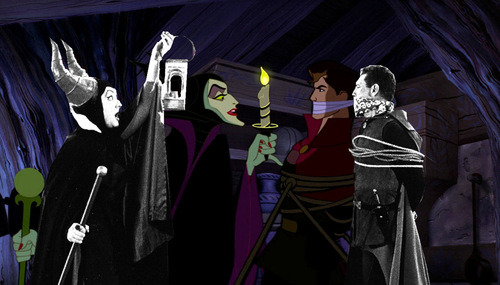 odditiesoflife:  Disney's Classic Animated Films and Rotoscoping While Disney has made some of the most popular animated features of all time, they had the good sense to use the most advanced animation technology available at that time - rotoscoping. Rotoscoping is a technique in which animators trace over footage, frame by frame, for use in live-action and animated films. The recorded live-action film images were projected onto a frosted glass panel and re-drawn by an animator. This projection equipment is called a rotoscope, although this device was eventually replaced by computers. It is the vintage predecessor to the computer simulation techniques James Cameron used for his Avatar characters.  Source 1, 2