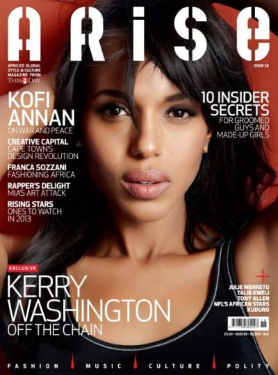 Kerry Washington for ARISE magazine [Issue #18]