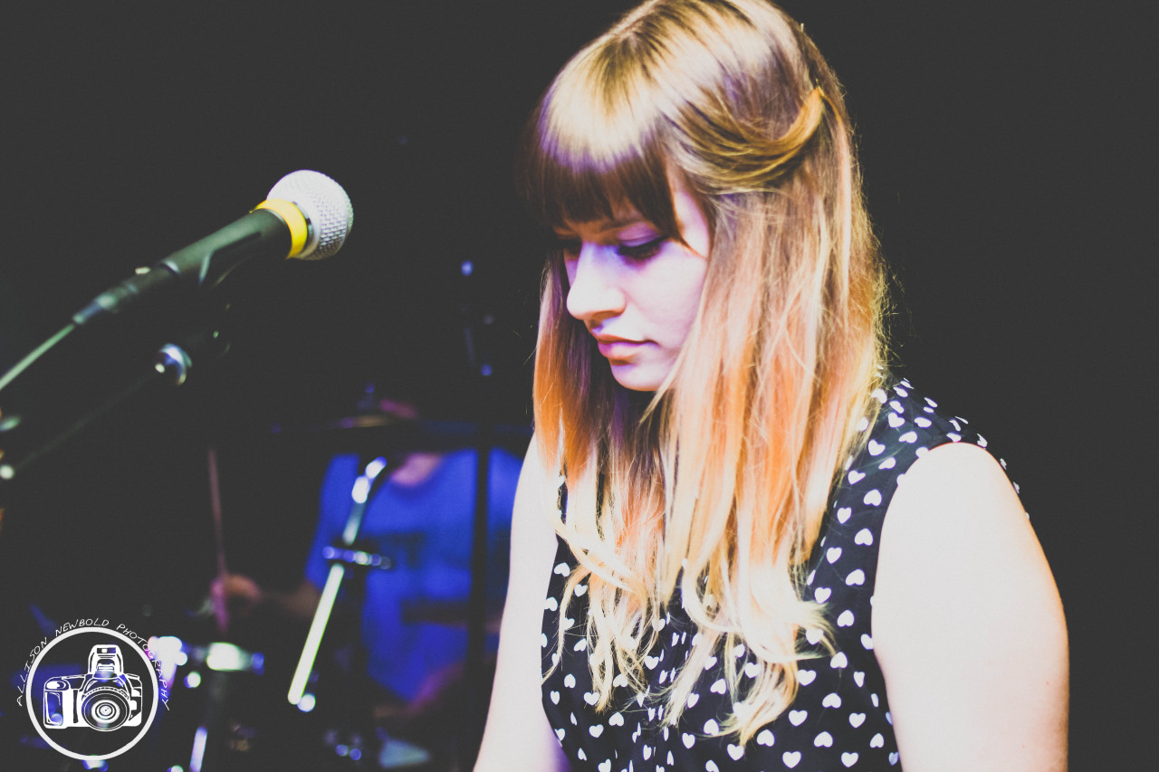Brianna Collins of Tigers Jaw by Ally Newbold