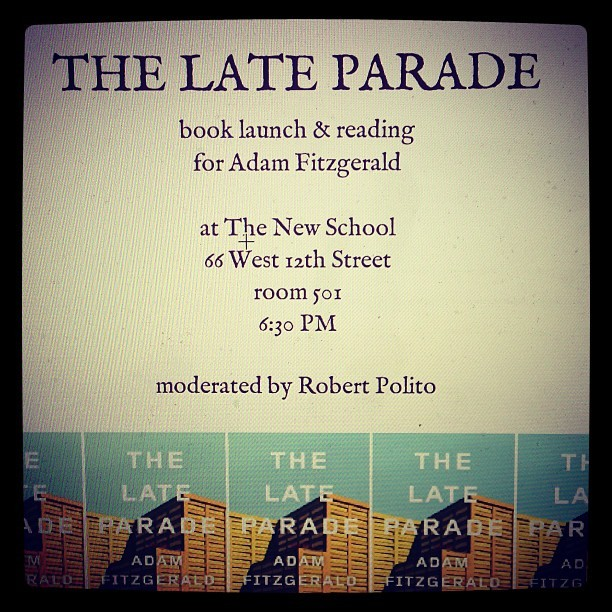 TOMORROW! #thelateparade #books #poetry #booze
