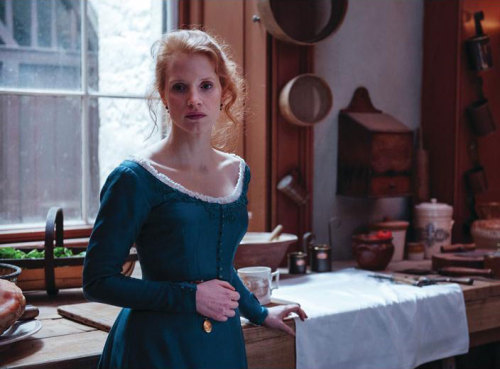 the-garden-of-delights:  Jessica Chastain in the title role of Miss Julie (2014).