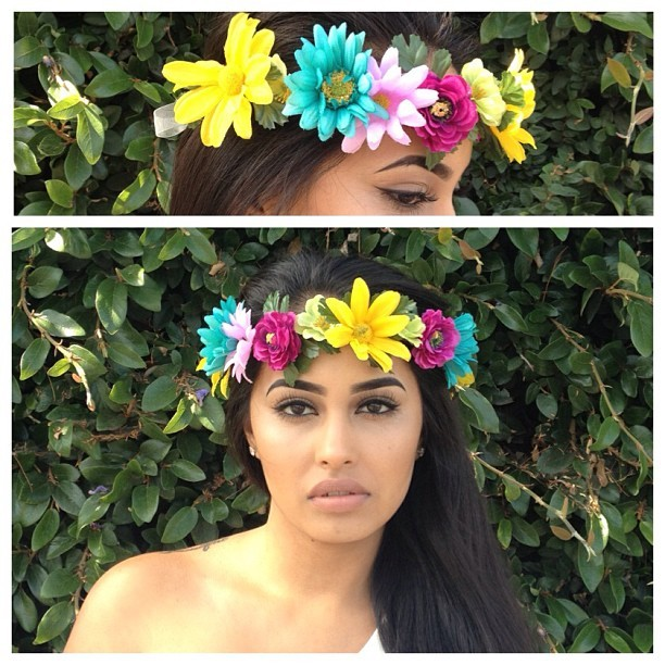 The beautiful Garden Crown available at beyonddalliance.bigcartel.com
