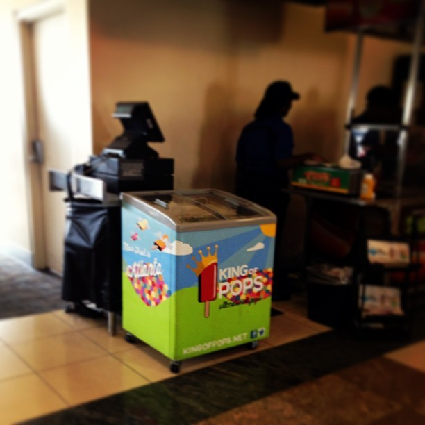 Mmmm King of Pops sold at ATL now!