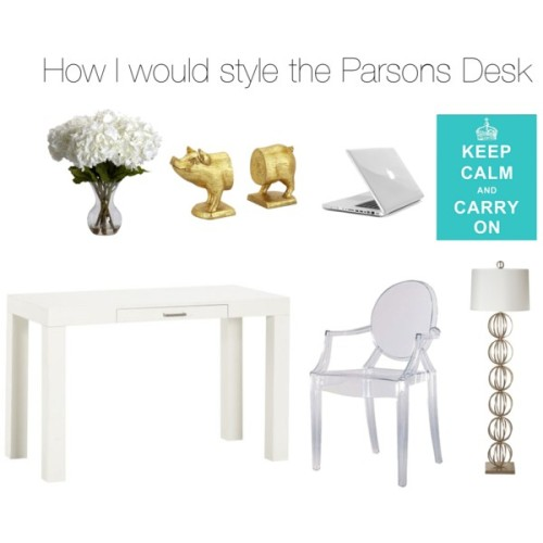 Parsons DeskParsons Desk by lianepamuspusan on Polyvore This table. Oh, what to say about this table. Well,…View Post