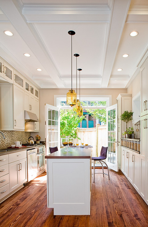 georgianadesign:  Renovation of an 1880s DC rowhouse. Wentworth, Inc.