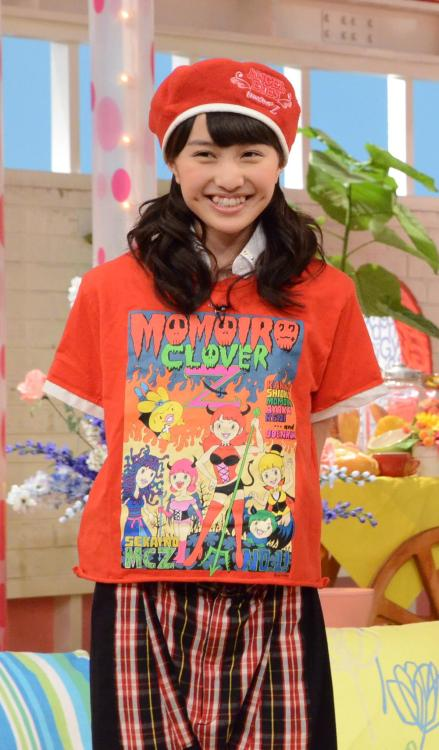 hibachifinal:  #momoclo shirts are the best
