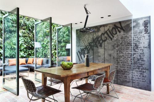 yes or no: grunge wall? (via desire to inspire - Alexander James)