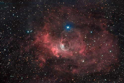 n-a-s-a:  NGC 7635 The Bubble Nebula Credit: Matthew T. Russell